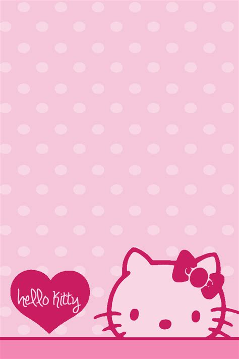 hello kitty hearts wallpaper untitled on we heart it hk pinterest pink hello