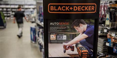stanley black decker canada corporation stanley black decker posts lower profit but lifts