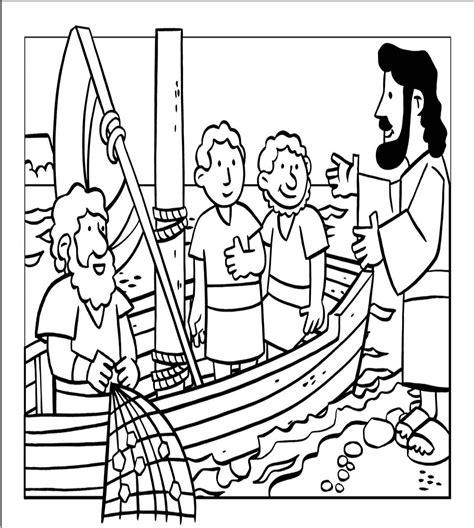 dibujos para colorear de la pesca milagrosa milagros de jes 250 s la pesca milagrosa escuela dominical