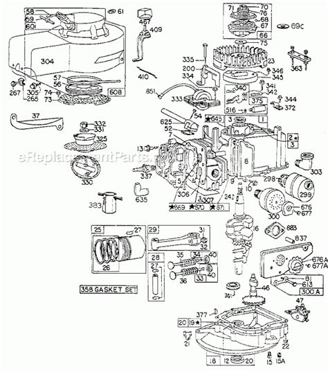 briggs and stratton engine parts diagram briggs and stratton 92900 series parts list and diagram