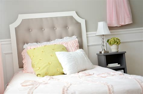 Diy Bed Headboard Diy Tufted Headboard The Idea Room