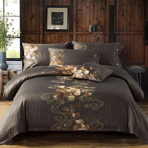 luxury designer bedding luxury tribute silk cotton embroidery luxury bedding set