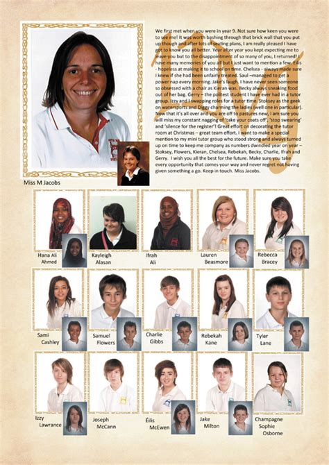 Year 11 Yearbook Sle Pages Hardy S Yearbooks Company Yearbook Template