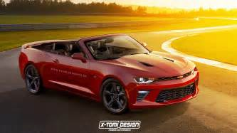 2017 chevrolet camaro convertible speculatively rendered