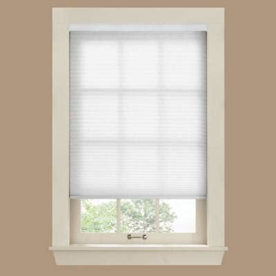 home depot window shades bali cut to size white 9 16 in cordless light filtering