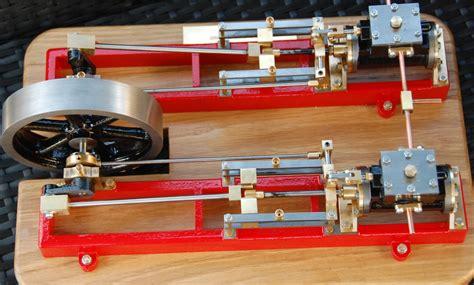 stuart twin victoria live steam engine at ataf club tessin stuart twin victoria model steam engines model