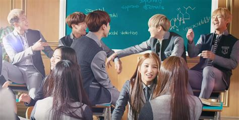 bts gfriend cf bts gfriend for smart school uniform page 2