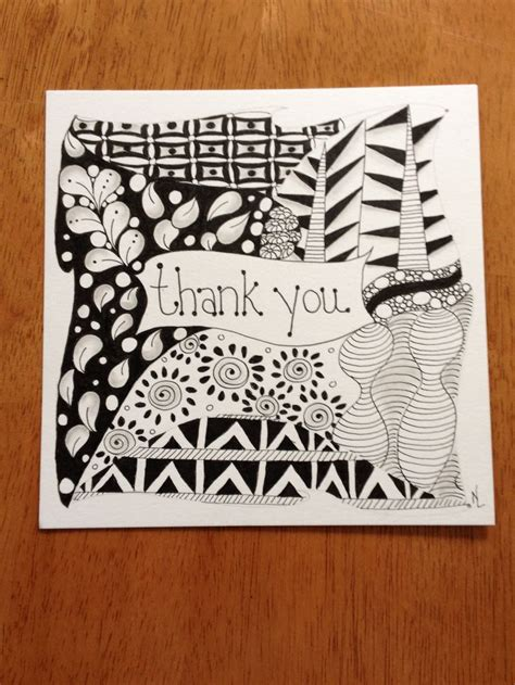 zentangle pattern cards 11 best thank you zentangles images on pinterest