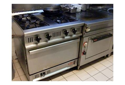 four de cuisine professionnel piano de cuisson occasion four et table de cuisson sur