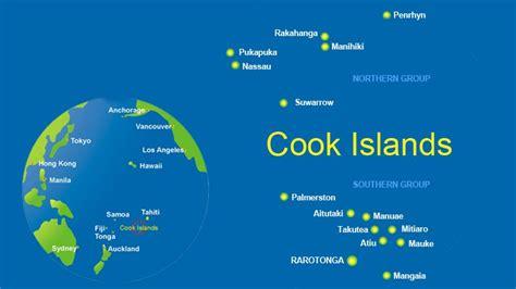 cook islands map world cook islands dive information scuba diving resource