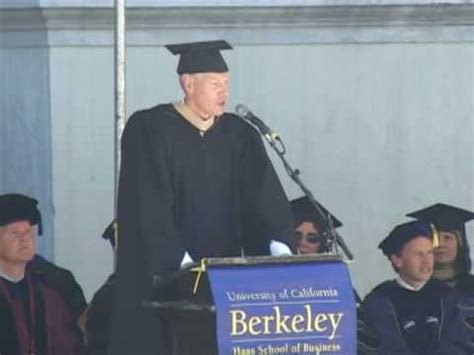 Berkeley Mba Sign In by Mba 08 Commencement Address Bengt Baron Haas School