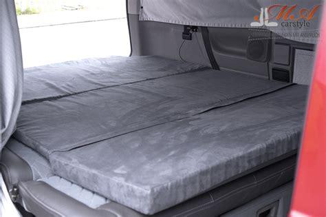 Komfortmatratze Matratze 3 Teilig Vw T4 Multivan Grau