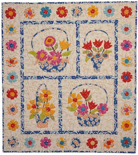quilt pattern flower basket 1000 images about basket quilts on pinterest block of