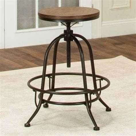 Royal Furniture Bar Stools by Cramco Inc Craft Counter Height Backless Swivel Stool
