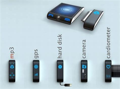 Portable Album In Concept Device by Concept Portable Device Is A Gps Mp3 Player