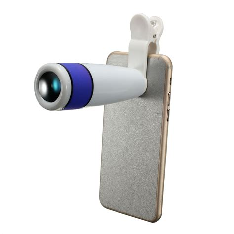 samsung phone zoom 12x zoom clip on phone telescope telephoto lens for