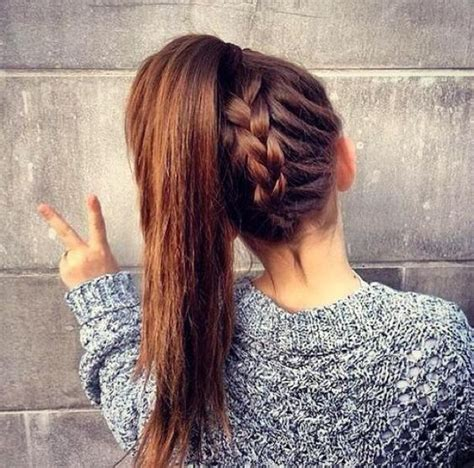 cute hairstyles plaits easy hairstyles for college girls simple hair style