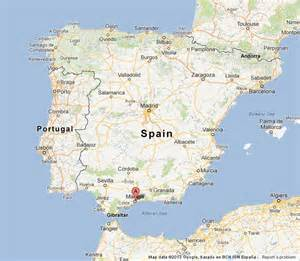 Malaga Spain Map by Malaga Location Map Images