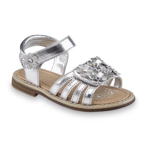 silver toddler sandals wonderkids toddler s silver embellished sandal