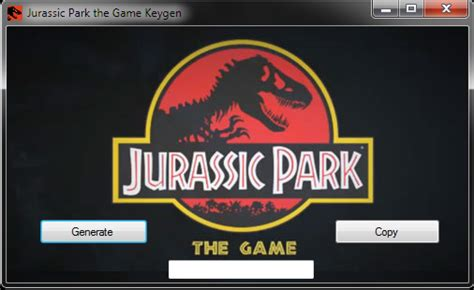 download jurassic park the game crack gametipshacks jurassic park the game keygen