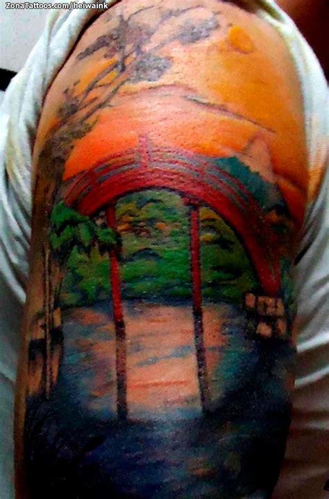 imagenes de paisajes tatuajes tatuajes de paisajes imagui