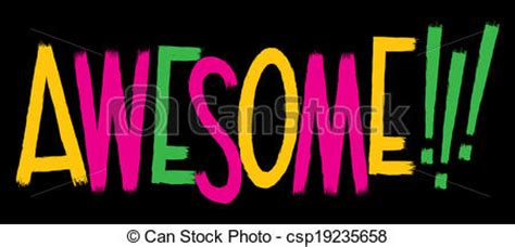 awesome clipart word clip of awesome cliparts