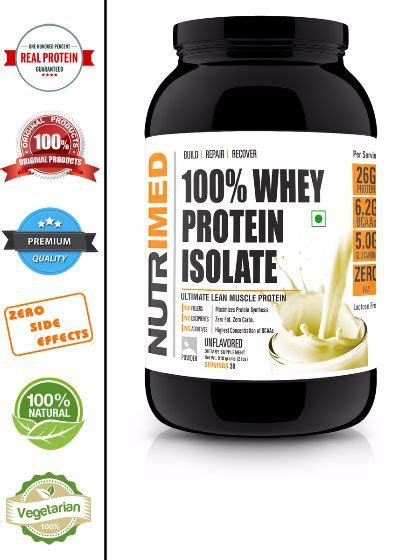 Whey Protein Isolate Medan Shop For Performance Series Www Nutrimed Co In