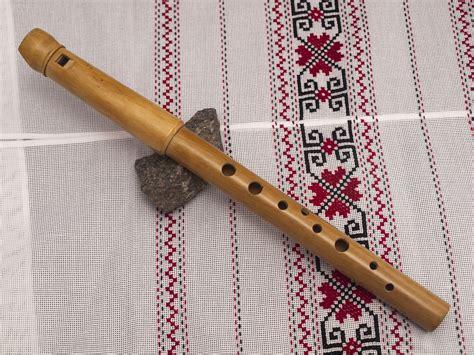 Handmade Wooden Flutes - sopilka collapsible alto in g ukrainian chromatic handmade