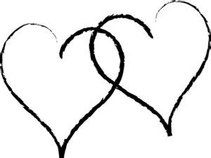 dove and heart clip art   Hearts Clip Art Images Two