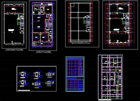 A 1 Story House 2 Bedroom Design Structure Detail Of Double Storey House Plan N Design