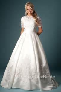 modest monday modest wedding dress edition
