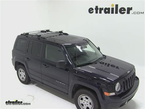 thule roof rack for jeep patriot 2011 etrailer