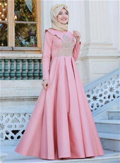 desain dress casual muslim 21 model gamis lebaran 2018 desain elegan casual dan modern