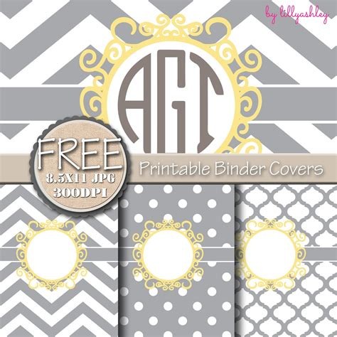 printable 3 ring binder covers make it create by lillyashley freebie downloads freebie