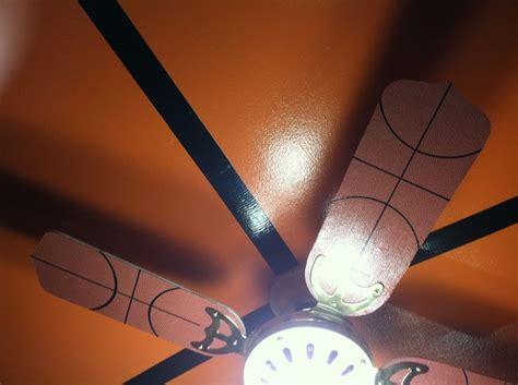basketball ceiling fan boy bedroom pinterest