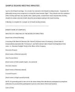business meeting minutes template 13 business minutes template free sle exle