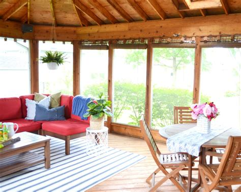 screened porch makeover screened porch makeover reveal the cofran home