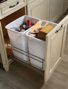 Waste Baskets For Kitchen Cabinets by Brookhaven Cabinet Styles Waste Basket Cabinet
