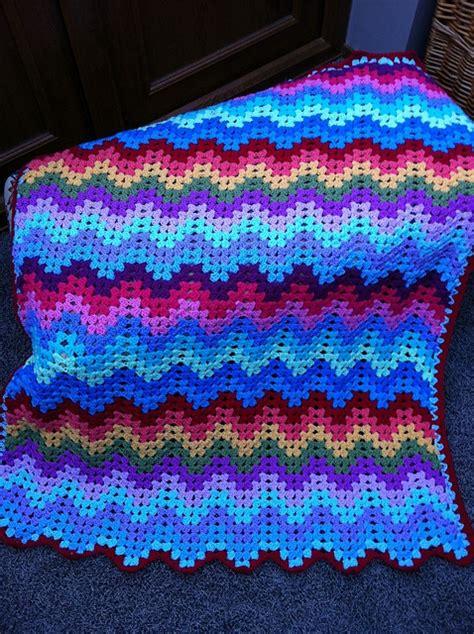 diamond zig zag afghan pattern 17 best ideas about ripple afghan on pinterest free