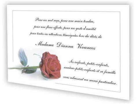 Exemple Lettre De Remerciement Condoleances Carte Remerciements D 233 C 232 S Condol 233 Ances Deuil