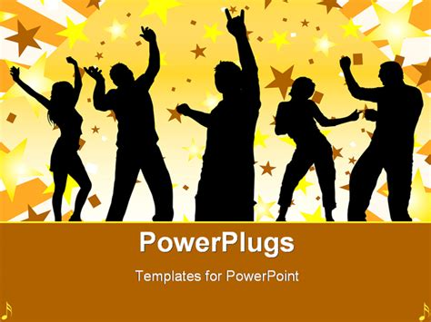 templates powerpoint dance photos dancers powerpoint template is a free dance for