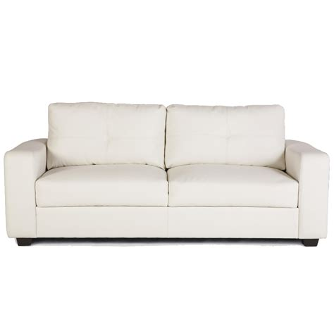 White Settee Sofa sofas center cleaning white leather sofafake sofa modern alley cat themes