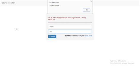 php tutorial register and login oop php registration and login part 2 free source code