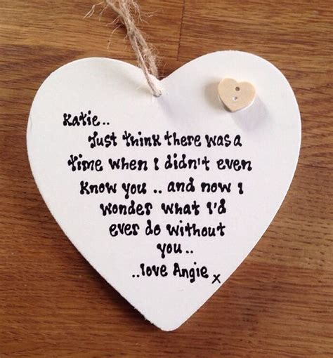 Shabbyalised Chic Heart Best Friend Special  Ee  Gift Ee