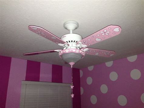 girls room ceiling fan ceiling fan in jasi s new minnie mouse room too cute