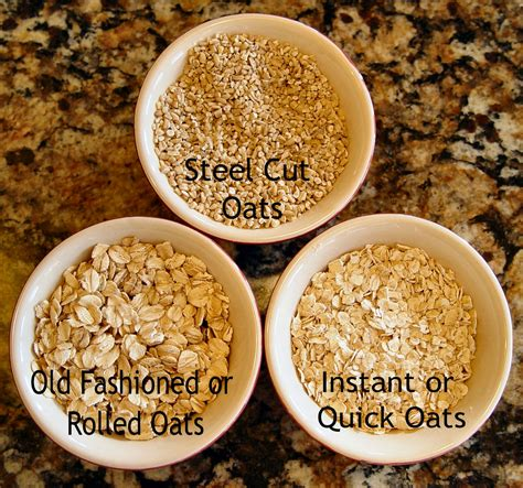 The Difference Between Steel Cut Old Fashioned Quick - steel cut oats boiling water in a thermos overnight