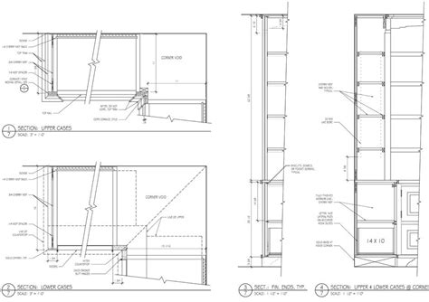 Drafting Drawers by Woodwork Bookcase Design Drawings Pdf Plans