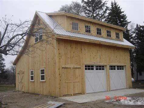 saltbox garage plans broken back salt box post beam barn kit barn building