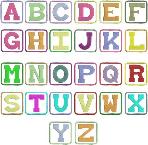 block letter font 1000 ideas about block letter fonts on