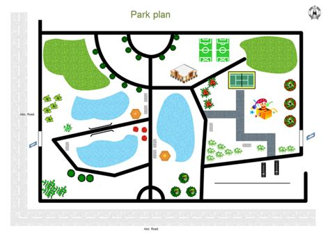 Freeware Floor Plan Software examples of park plan